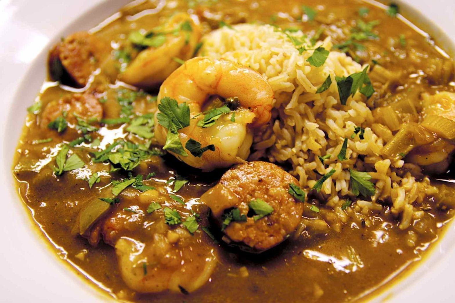 Weeknight Gumbo for Two