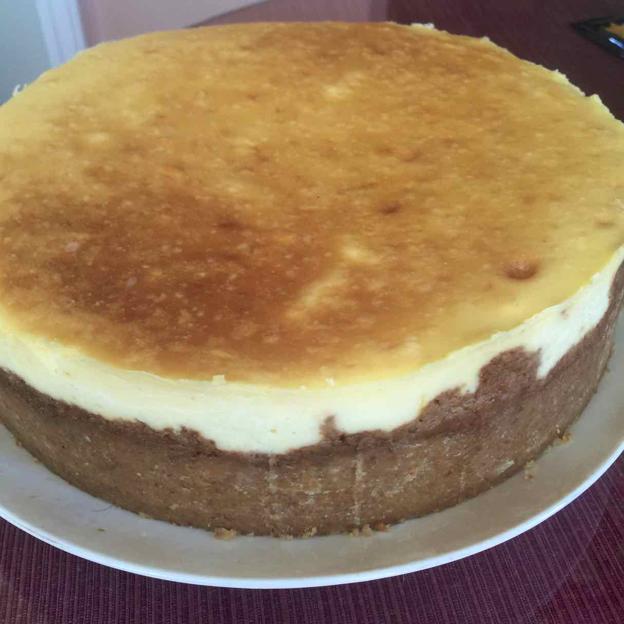 Lucious Lemon Cheesecake
